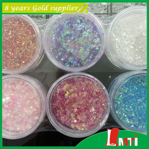 New Type Green Glitter Powder for Fabric pictures & photos