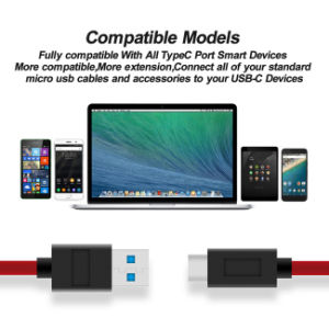 USB 3.0 Type-C Fast Charging Sync Data Cable for MacBook pictures & photos