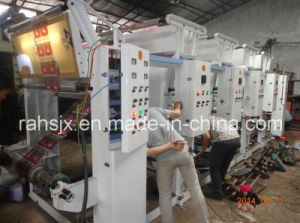 PP Film Rotogravure Printing Machine with 4 Colors 1000mm pictures & photos
