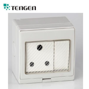 250V 15A 1 Gang 1 Wang Water-Proof Switch/ Weather-Proof Africa pictures & photos