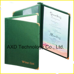 Classic Leather Style Menu Cover Manufacture and Export