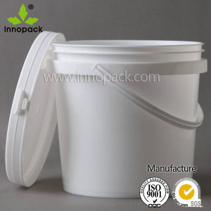 Clear PP Food Grade 5 Liter Plastic Drum /Container Ice Cream /Fruit Wholesale pictures & photos