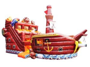 Commercial Inflatable Bouncy Pirate Ship Slide Chsl648 pictures & photos