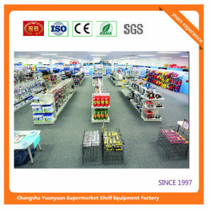 Metal Cold Steel Supermarket Shelf for Grocery 081210 Retail Shelf pictures & photos