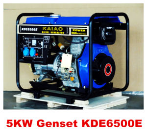 Aircooled Diesel Generator 5kw Silent Type Hot Sales pictures & photos