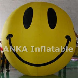 Custom Design Printing Inflatable Helium PVC House Shape Balloon pictures & photos