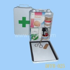 Industry First Aid Kit with Sealing Strip (DFFB-025) pictures & photos