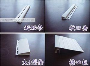 Plastic Vinyl Siding Plate Extrusion Line pictures & photos