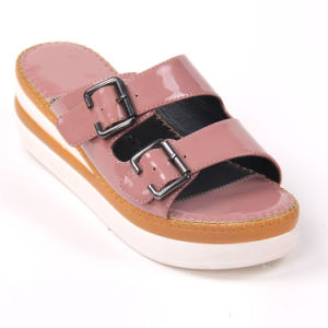 Comfortable Open Toe Lady Beach Sandal pictures & photos