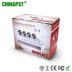 Hottest HD Night Vision 4CH IP Wireless WiFi Cameras NVR Kit (PST-WIPK04AL) pictures & photos