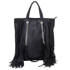Shoulder Tassel Designer Leather Fashion Handbag with Fringes (2094) pictures & photos