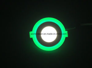 Green Edge 2 Color Panel Downlight LED Panel pictures & photos