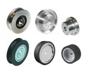 Custom Equipment Rubber Coated Pulley Wheel pictures & photos