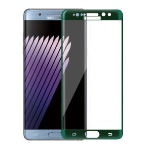 0.2mm 3D Green Screen Protector for Samsung Note 7 pictures & photos