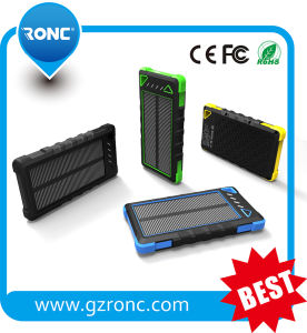 Ce RoHS FCC Certificated 8000mAh Solar Charger for Smartphone pictures & photos