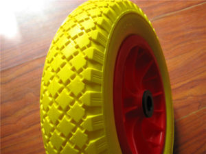 PU Foam Wheels 12 Inch Strong Wear Resistance and None Flat pictures & photos