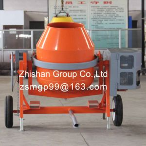 CMH600 (CMH50-CMH800) Electric Gasoline Diesel Portable Cement Concrete Mixer Machine pictures & photos