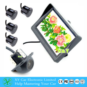 4.3inch TFT LCD Monitor Car Rear View Camera with Parking Sensor System (XY-8435)