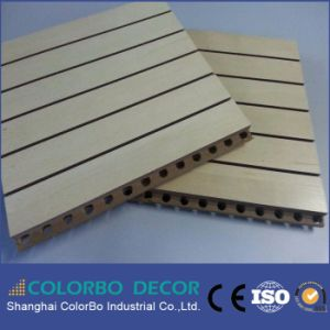 Studio Decoration Sound Insulation Wooden Timber Acoustic Panel pictures & photos