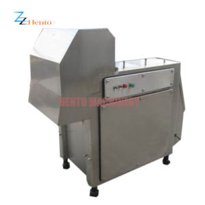 Commercial Electric Automatic Frozen Meat Cube Dicer with CE pictures & photos