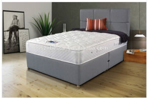Bamboo Cover Pocket Spring Memory Foam Mattress pictures & photos