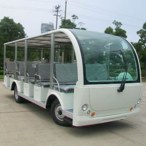 23 Passenger Electric Tourist Coach Sightseeing Car (DN-23) pictures & photos