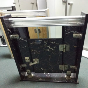 Stone Color Aluminium Honeycomb Panels for Doors and Toilet Partition pictures & photos