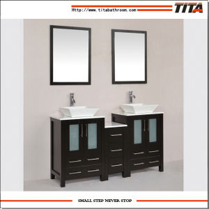 2016 Modern Above Mount Ceramic Sink Bath Furniture T9166 pictures & photos