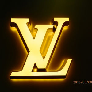 Poslished LED Backlit Signs Outdoor LED Stainless Steel Letters pictures & photos