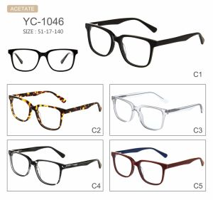 in Stock Fashion New Style Factory Sell Acetate Optical Frames Eyeglasses Eyewear pictures & photos
