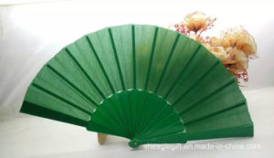 Solid Plain Color Nylon Silk Hand Fan for Wedding Gift Favor pictures & photos