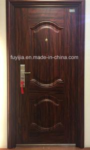 New Design and Competitive Price Steel Security Door (FYJ-8881)