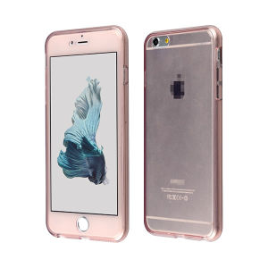 Two Piece TPU Front and Back Case for iPhone 6s Plus pictures & photos