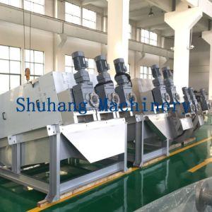 Automatic Screw Sludge Dewatering Press