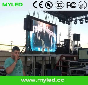 LED Curtain P40 2015 Leeman P3 SMD China Stage Background LED Video Wall Display pictures & photos