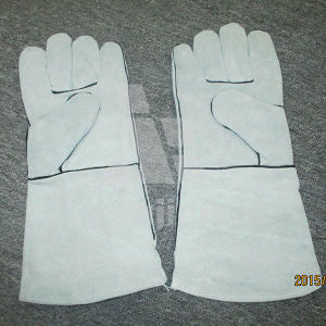Full Palm Leather Grad a/Ab/Bc Welding Safety Glove pictures & photos