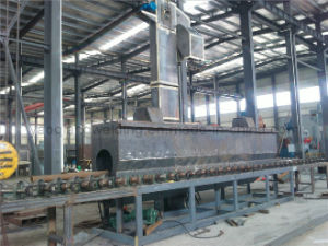 Continuous Steel Pipe Welding Machine for Pipe Surface Cleaning pictures & photos