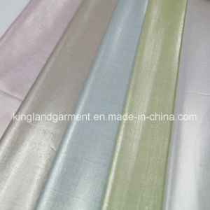 Polyester Anti-UV Reflective Fire Retardant Fireproof One Way See Through Lurex Fabric pictures & photos