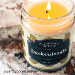 Big Glass Jar Candle in Luxury Gift Box pictures & photos