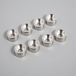 Rare Earth Sintered Countersunk Neodymium Magnet Countersunk pictures & photos