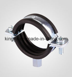 Pipe Clamp with Rubber&M8+10 Nut