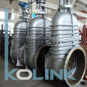 Non-Rising Stem Gate Valve in Cast Steel pictures & photos