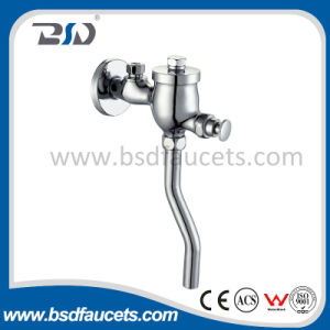 Push Chrome Water Save Self Closing Time Delay Flush Valve pictures & photos