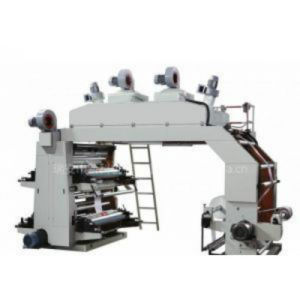 Four Color Flexible Flexographic Printing Machine for Plastic Film pictures & photos