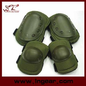Airsoft Protective Pads Sets Tactical Knee Elbow Pads for Paintball Game pictures & photos