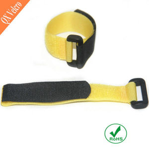 Custom Colored Hook Loop Buckle Strap Fastener pictures & photos