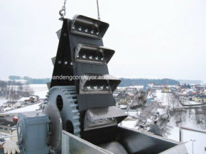 Rubber Belt Traction Bucket Elevator pictures & photos