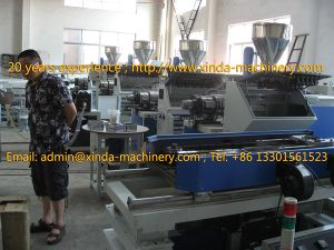 PVC Corrugated Pipe Production Line pictures & photos