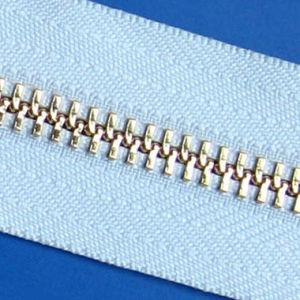 Metal Zipper for Y Teeth Type (5#platinum)
