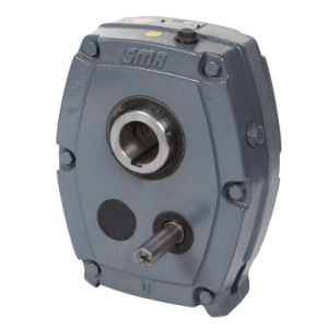 Smr Metric Shaft Mounted Reducer Gearbox Worm Geared Motor pictures & photos